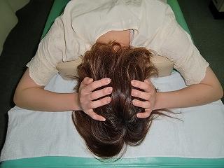 顎関節 頭蓋骨矯正 美容師 施術前